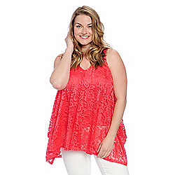 77bd5062073 Image of product 732-509. QUICKVIEW. More Choices Available. Kate   Mallory®  Lace   Knit Sleeveless ...