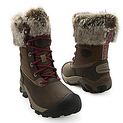 """As Is"" KEEN ""Hoodoo II Low WP"" Women's Waterproof Mid-Calf Boots"