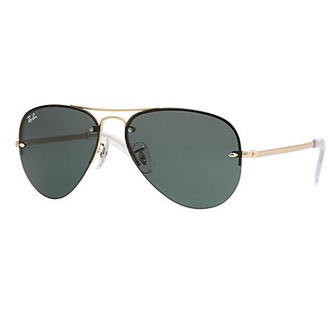 b8830bb163 732-831- Ray-Ban Unisex 59mm Rimless Gradient Lens Aviator Frame Sunglasses  w