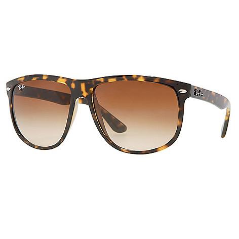60898a681b 732-835- Ray-Ban 60mm Boyfriend Faux Tortoiseshell Pilot Frame Sunglasses w