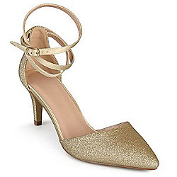 6fd2f29e9bc Image of product 733-349. QUICKVIEW. Journee Collection Glittering Pointed  Toe ...