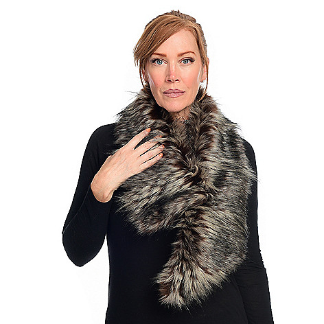 34abab6a09c Image of product 733-576. QUICKVIEW. Donna Salyers  Fabulous-Furs Faux Fur  Clip Scarf Early ...