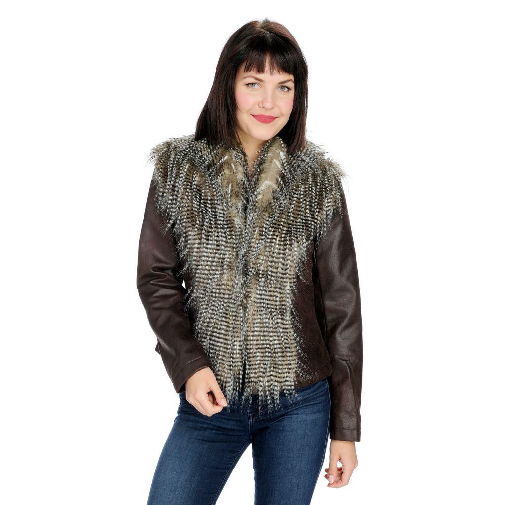 Women S Blazers Faux Leather Denim Jackets Evine