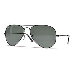 443c589755 Image of product 735-509. QUICKVIEW. Ray-Ban Black Aviator Frame Sunglasses  w  Case