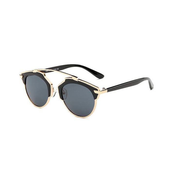 Accessories Under $25 And up to 70% Off at ShopHQ 735-764 Dasein 57mm Retro-Inspired Round Frame Sunglasses w Case