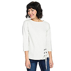 de65ba993f6f9a Image of product 735-848. QUICKVIEW. More Choices Available. OSO Casuals®  Striped Knit ...