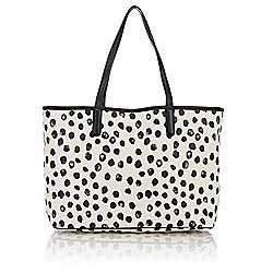 Marc by Marc Jacobs Double Handle Spotted Print Tote Bag
