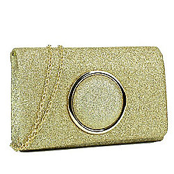 Clutches - 736-152 Dasein Glitter Frosted Evening Clutch - 736-152