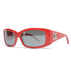 f3558abf0168 Image of product 736-691. QUICKVIEW. Dolce & Gabbana 57mm Red Wraparound  Sunglasses