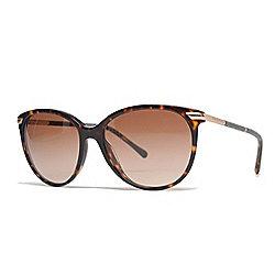 d217bdb42e2 Burberry Havana Round Frame Sunglasses w  Case