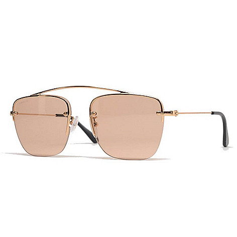 73a1899bc0 norway prada eyeglasses fe70f 18bcc  wholesale 736 784 prada unisex gold  tone aviator frame sunglasses w case a1aee c16fb