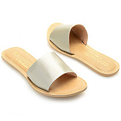 "Matisse ""Cabana"" Leather Slip-on Sandals"