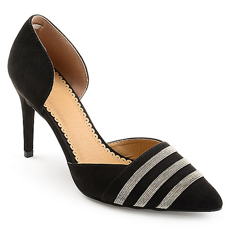 Journee Collection Felicia ... Women's D'Orsay High Heels cheap sale countdown package umAg8