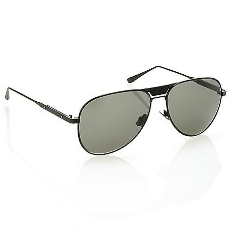 9bb17a3396b 737-645- Bottega Veneta 60mm Men s Black Aviator Sunglasses w  Case