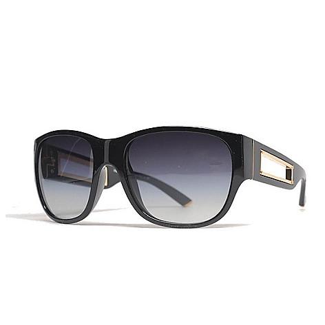 d697ca37a8b5 737-687- Dolce & Gabbana 57mm Black Oval Frame Sunglasses w/ Case