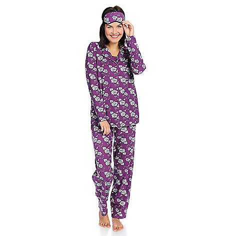 f02b043731 737-698- Everyday Koze by Harve Benard Knit 4-Piece Pajama Set