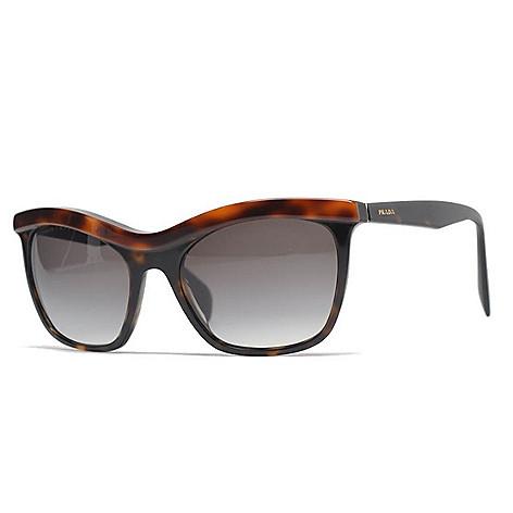 da5daef16a09 737-787- Prada 55mm Faux Tortoiseshell Havana Cat Eye Frame Sunglasses