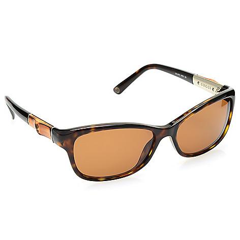 46af52a3ae 738-962- Gucci 55mm Round Frame Sunglasses w  Case