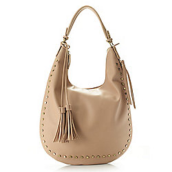 Shoulder & Hobo Bags - 738-982 Love One Love All Amazing Studded Expandable Hobo Handbag w Removable Strap - 738-982