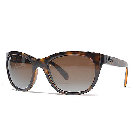 f29c7997b9 Ray-Ban Faux Tortoiseshell Polarized Cat Eye Frame Sunglasses w  Case