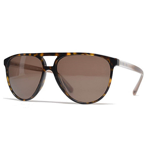 97d8e113e31 739-621- Burberry 58mm Havana Aviator Frame Sunglasses w  Case