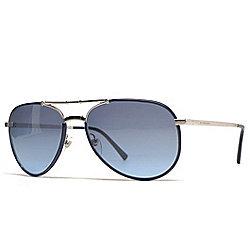 aad4729c6a3 Burberry 58mm Foldable Aviator Sunglasses w  Case