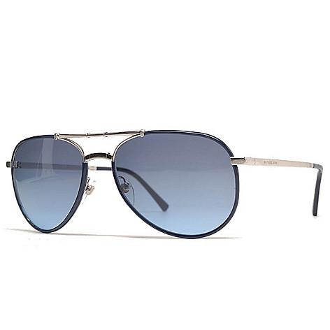 d7a621f52fa8 739-625- Burberry 58mm Foldable Aviator Sunglasses w  Case