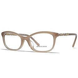 f4e2e7961a Burberry Beige Rectangular Frame Eyeglasses w  Case
