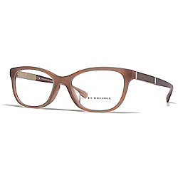 6e1a17f543b Burberry Light Brown Cat Eye Frame Eyeglasses w  Case
