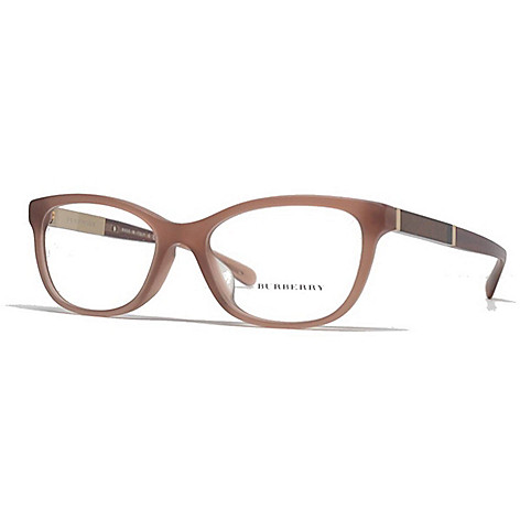 35dd423d836a 739-632- Burberry Light Brown Cat Eye Frame Eyeglasses w  Case