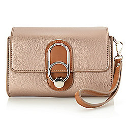 Clutches & Wallets - 739-647 Madi Studio by Madi Claire Layla Two-tone Convertible Clutch w 2 Straps - 739-647