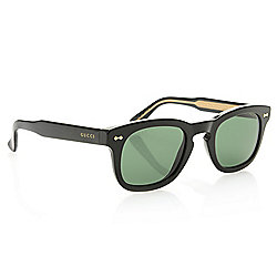 d14ebb5eb489 Image of product 739-664. QUICKVIEW. More Choices Available. Gucci Unisex Round  Frame Sunglasses w/ Case. Evine Price $415.00