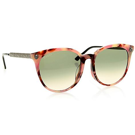 Gucci 56mm Round Frame Sunglasses W Case Evine