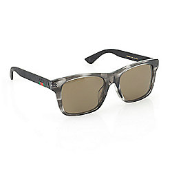 84daf389365 Image of product 739-671. QUICKVIEW. Gucci Men s 54mm Havana Round Frame  Sunglasses w .