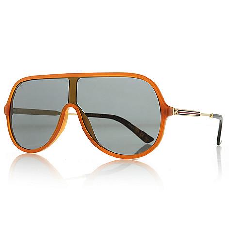 e53df58d15 Gucci 99mm Aviator Frame Sunglasses w  Case - EVINE