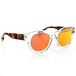 2fbb913816a Image of product 739-687. QUICKVIEW. MCQ by Alexander McQueen Unisex 48mm Round  Frame Sunglasses w  Case