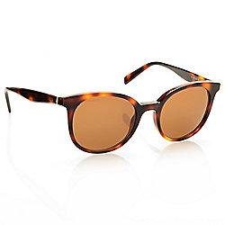 1c3eb93e432f Celine 49mm Havana Round Frame Sunglasses w  Case