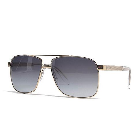 108cd269418 739-927- Versace 59mm Clear   Gold-tone Men s Designer Aviator Sunglasses
