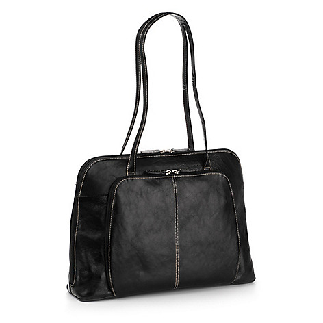 740 082 Buxton Leather Computer Tote Bag