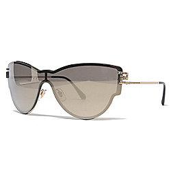 0e3e14b2939 Versace 42mm Gold-tone Cat Eye Frame Sunglasses w  Case