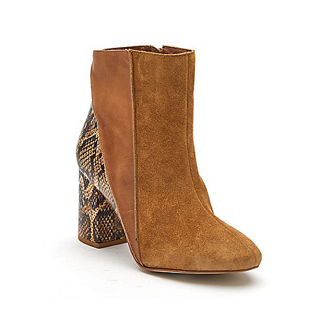 Boots Block Matisse Mixed Ankle Media Birdie EVINE Heel aqYAYt7zwr