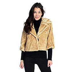 970acc19730 Donna Salyers  Fabulous-Furs Faux Fur 2-Pocket 3 4 Sleeve Vintage