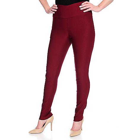 Artizan Miss_Fancy_Pants Knit_Elastic_Waist FullLength_Skinny Leg_Pullon_Pants