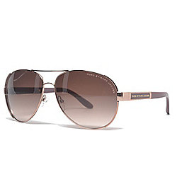 98e367ee437 Marc by Marc Jacobs 60mm Aviator Frame Sunglasses w  Case