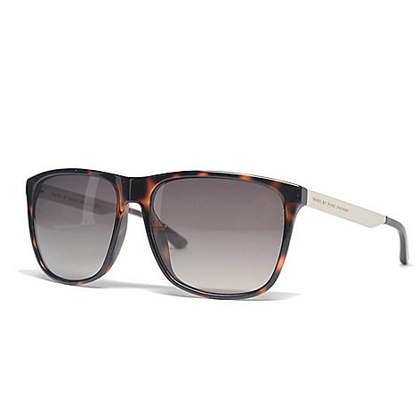 09a937ba68a 740-837- Marc by Marc Jacobs 58mm Havana Rectangular Frame Sunglasses w   Case