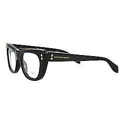e4ffed0ee7de Alexander McQueen 49mm Cat Eye Frame Eyeglasses w  Case