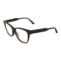 04beef7b75 Bottega Veneta 53mm Dark Havana Square Frame Optical Eyeglasses w  Case