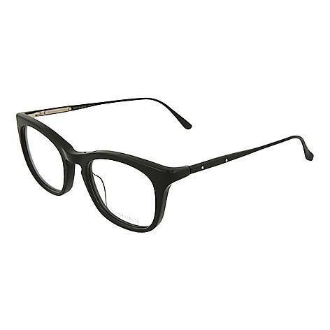 a6021ece43bdf 741-333- Bottega Veneta 49mm Black Square Frame Optical Eyeglasses w  Case