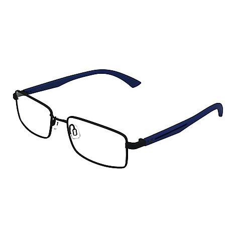 Puma Men\'s 53mm Rectangle Frame Eyeglasses w/ Case - EVINE