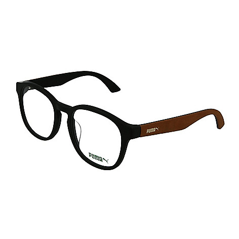 Puma 53mm Panthos Frame Eyeglasses w/ Case - EVINE